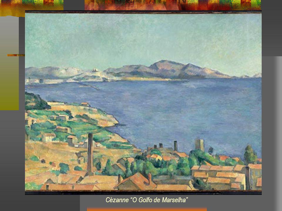 Cézanne O Golfo de Marselha