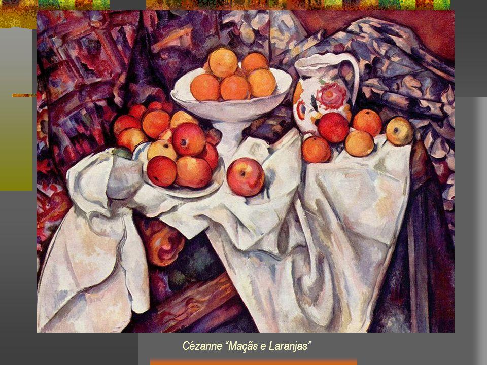 Cézanne Maçãs e Laranjas