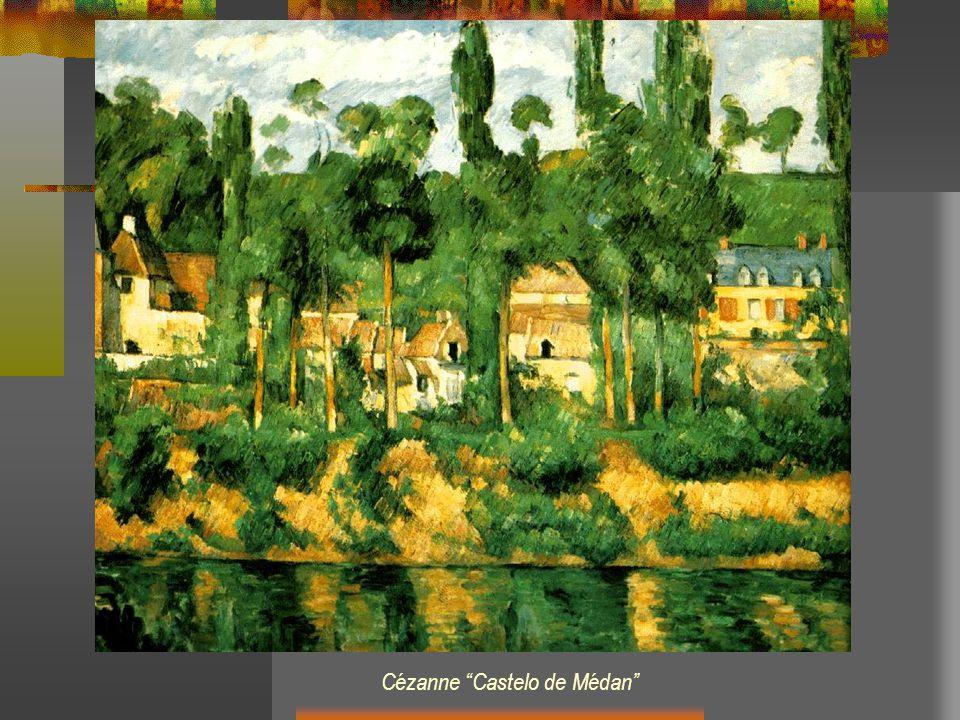 Cézanne Castelo de Médan