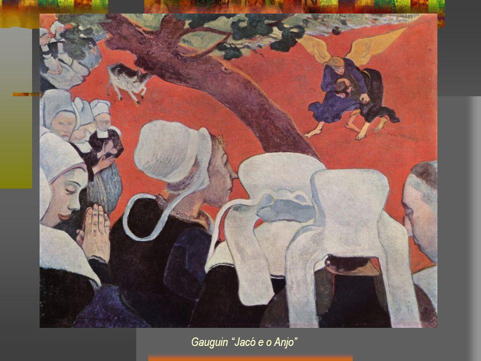 Gauguin Jacó e o Anjo