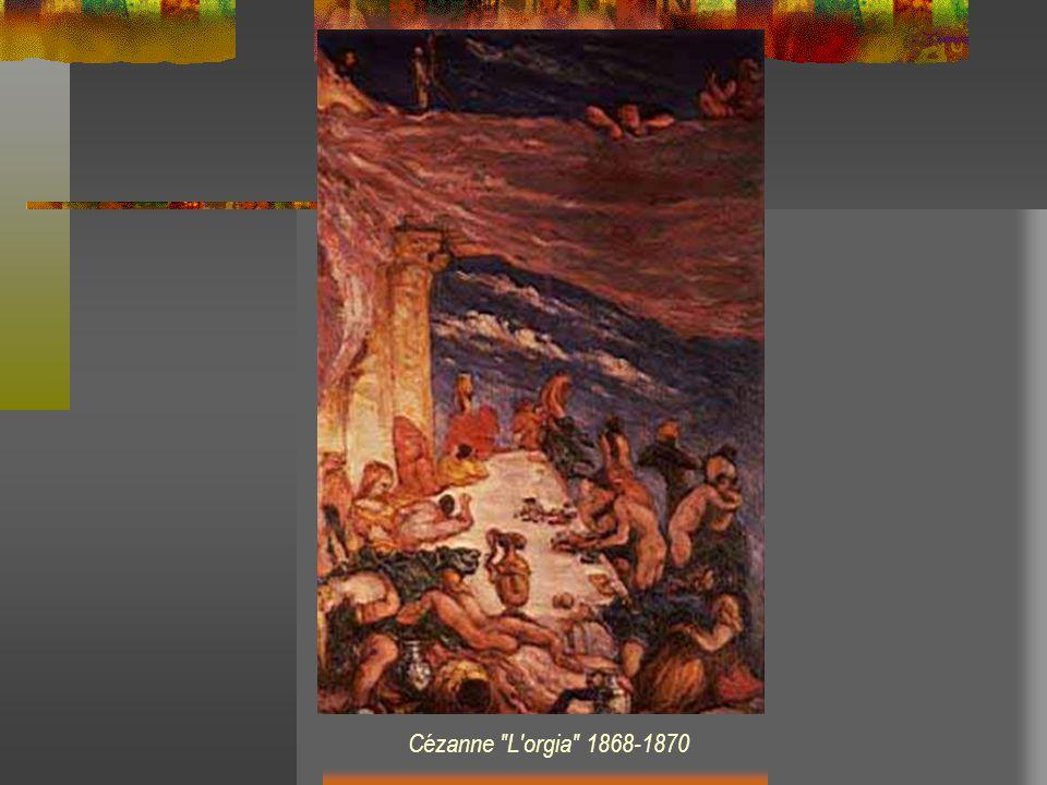 Cézanne L orgia 1868-1870
