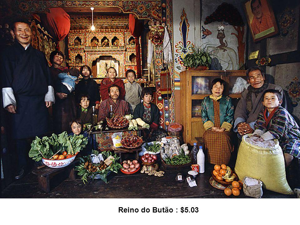 Reino do Butão : $5.03