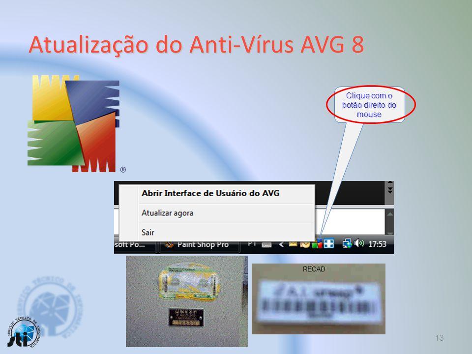 Atualização do Anti-Vírus AVG 8
