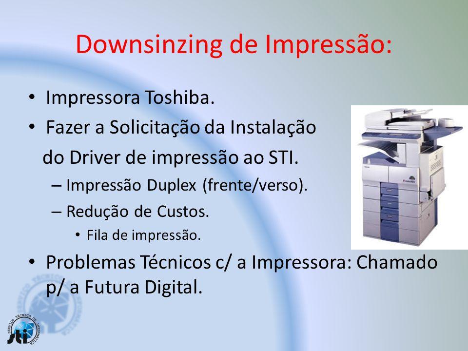 Downsinzing de Impressão: