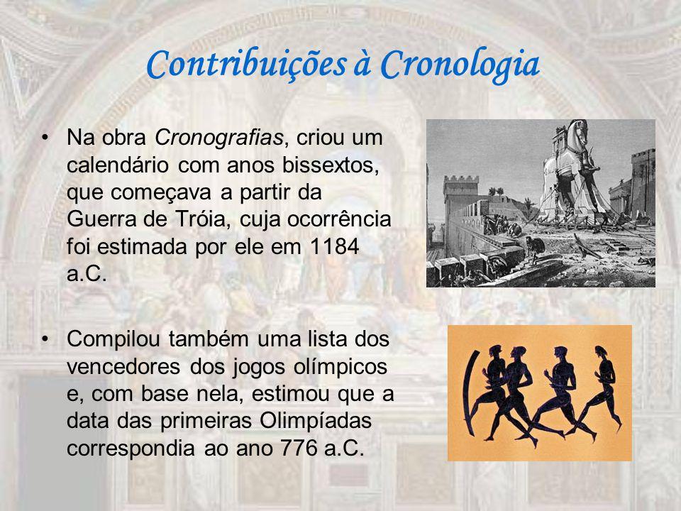 Contribuições à Cronologia