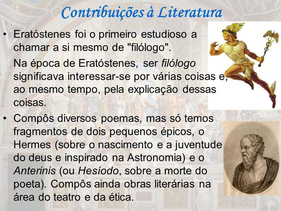 Contribuições à Literatura