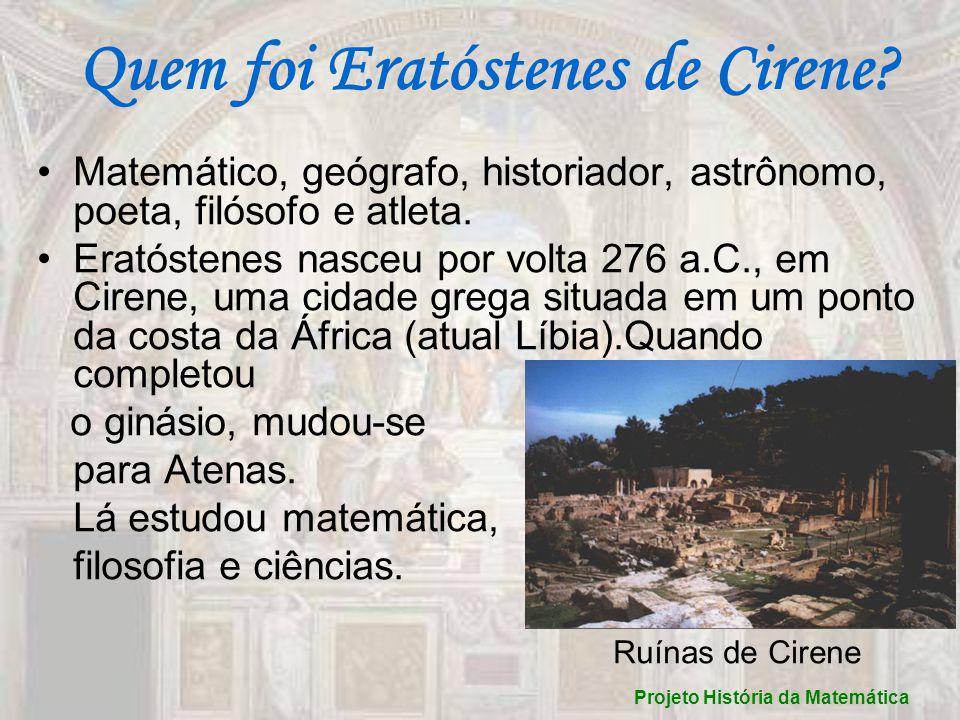 Quem foi Eratóstenes de Cirene