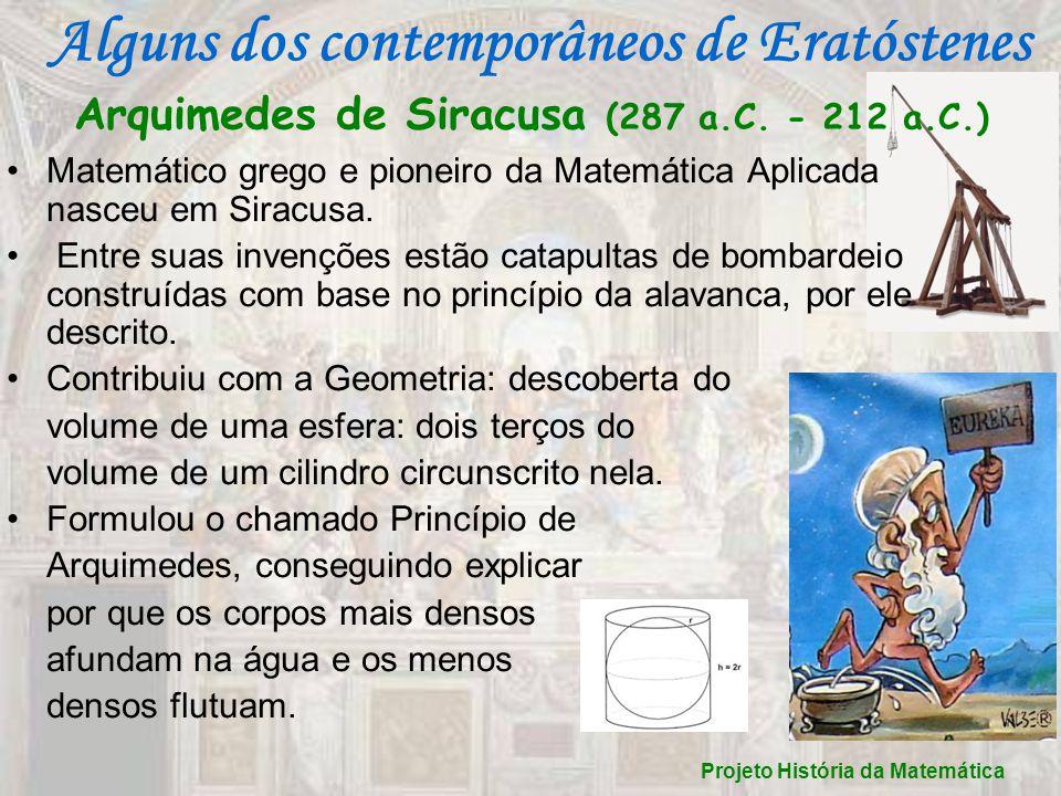 Arquimedes de Siracusa (287 a.C. - 212 a.C.)