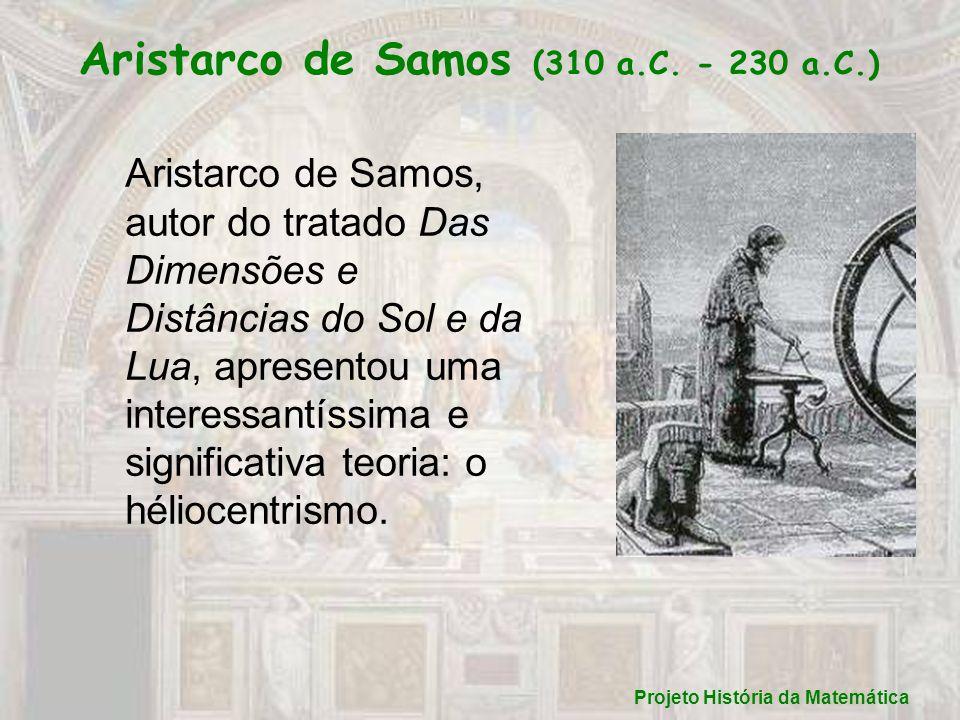 Aristarco de Samos (310 a.C. - 230 a.C.)