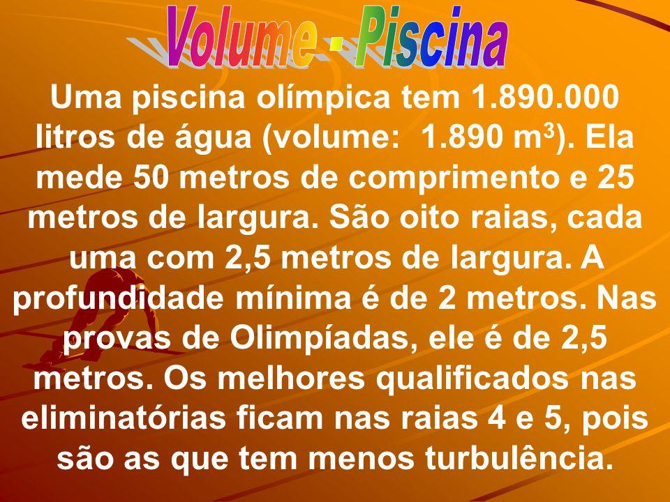 Volume - Piscina