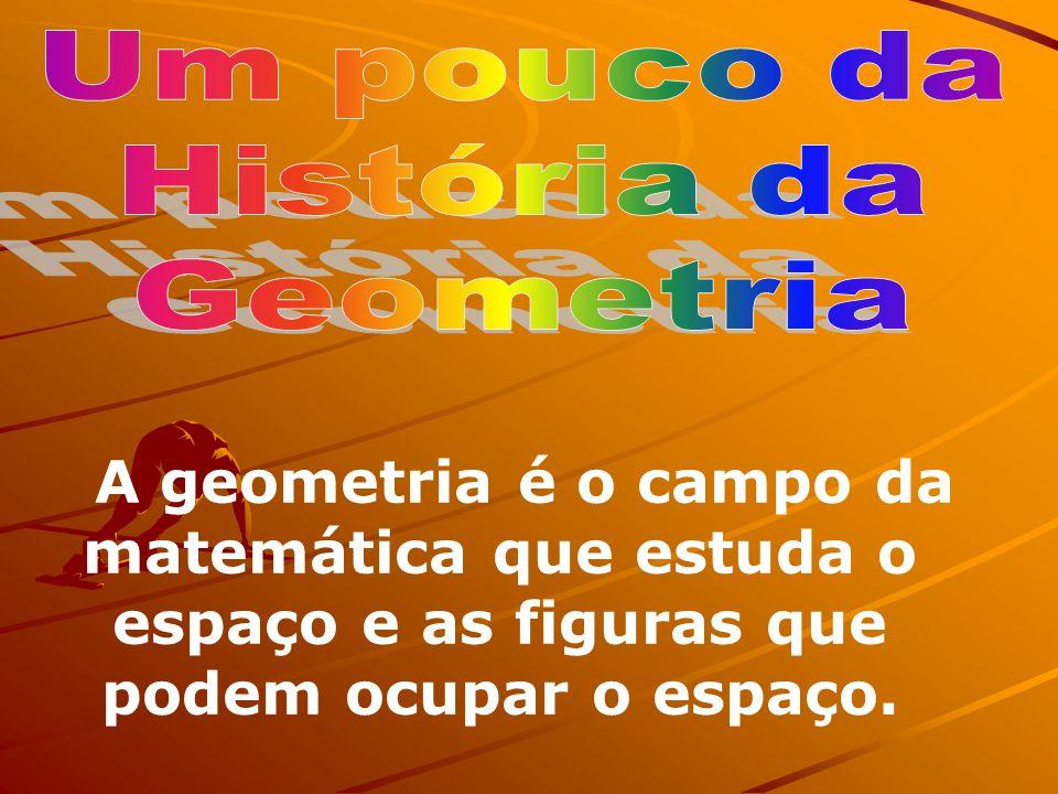Um pouco da História da. Geometria.