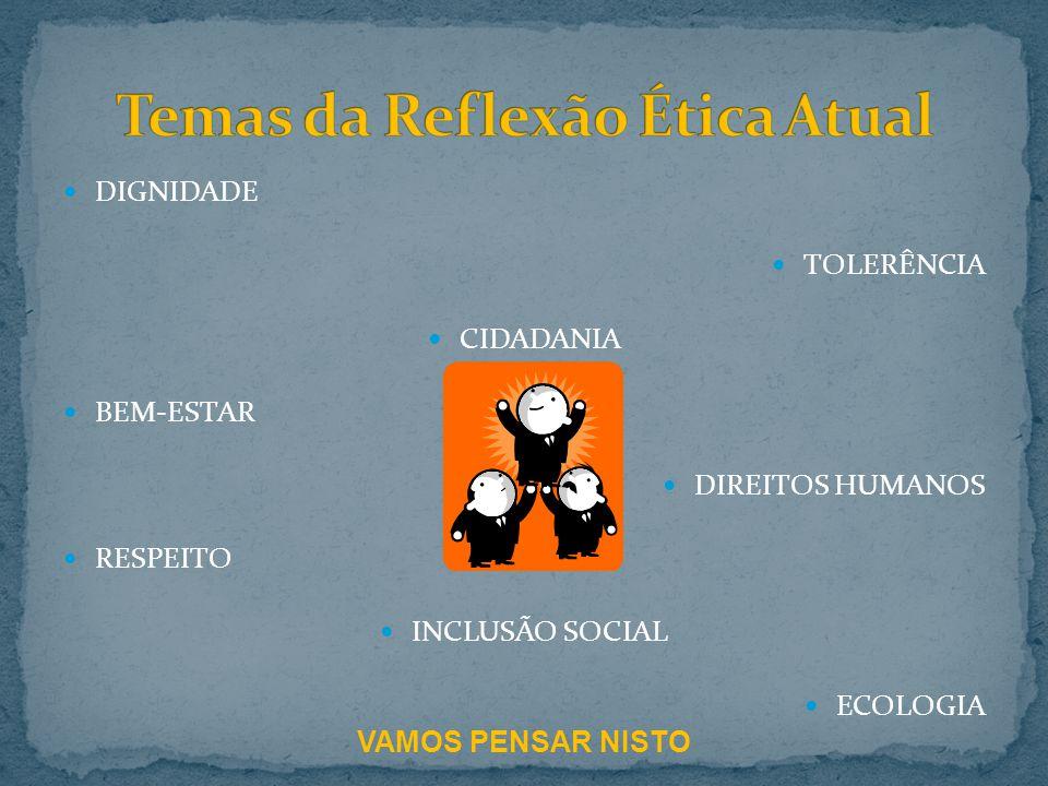 Temas da Reflexão Ética Atual