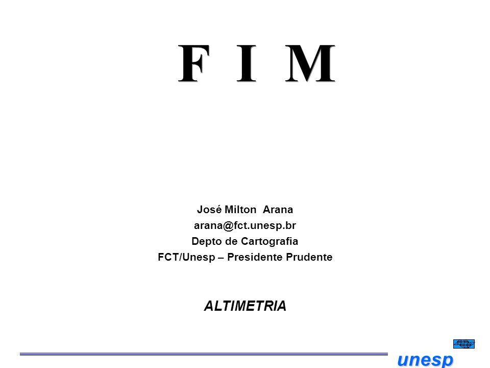 FCT/Unesp – Presidente Prudente