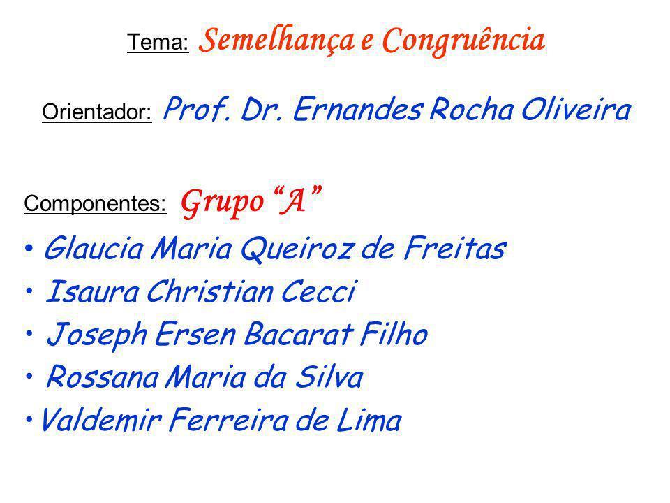 Glaucia Maria Queiroz de Freitas Isaura Christian Cecci
