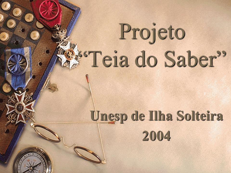Projeto Teia do Saber