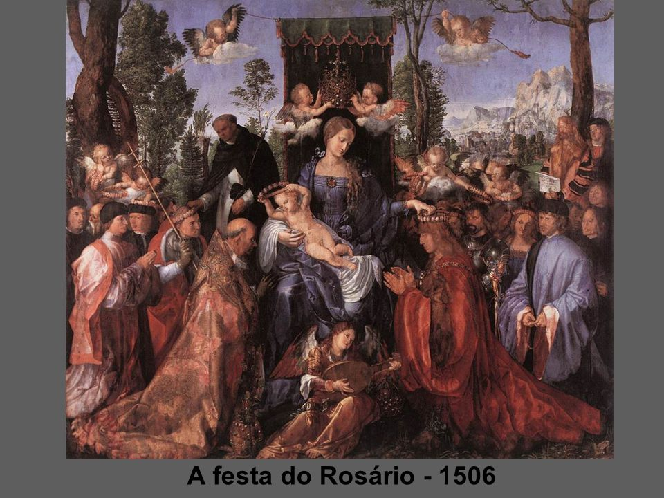 A festa do Rosário - 1506
