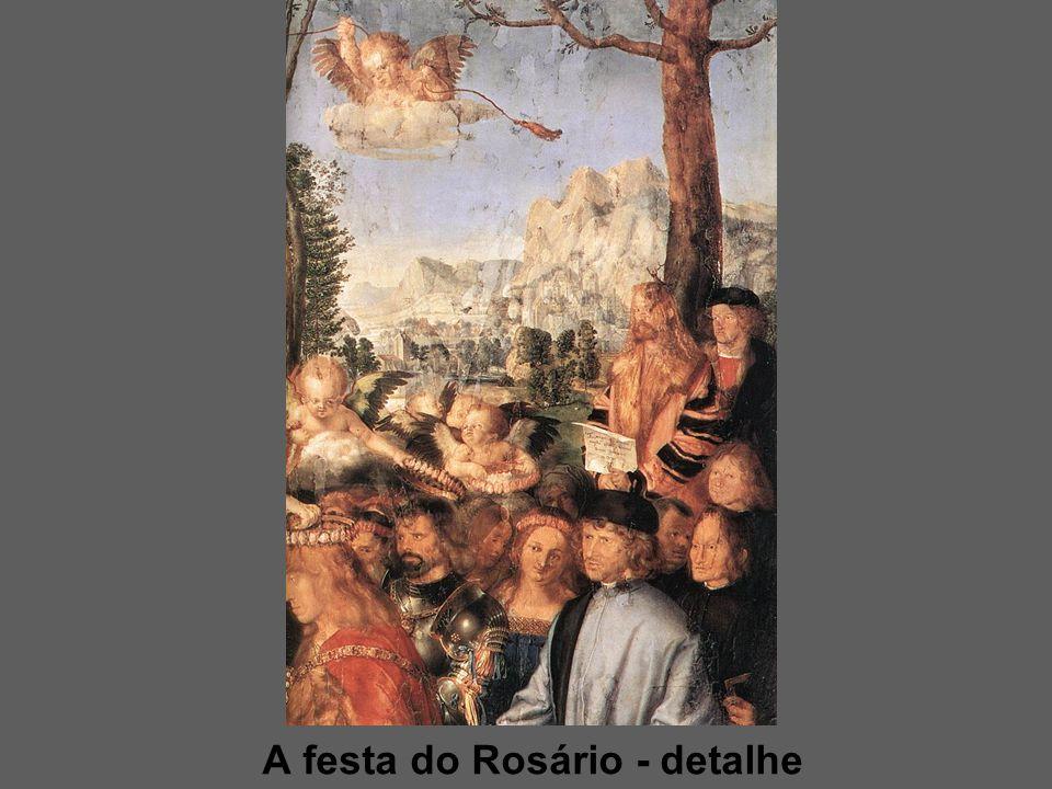 A festa do Rosário - detalhe