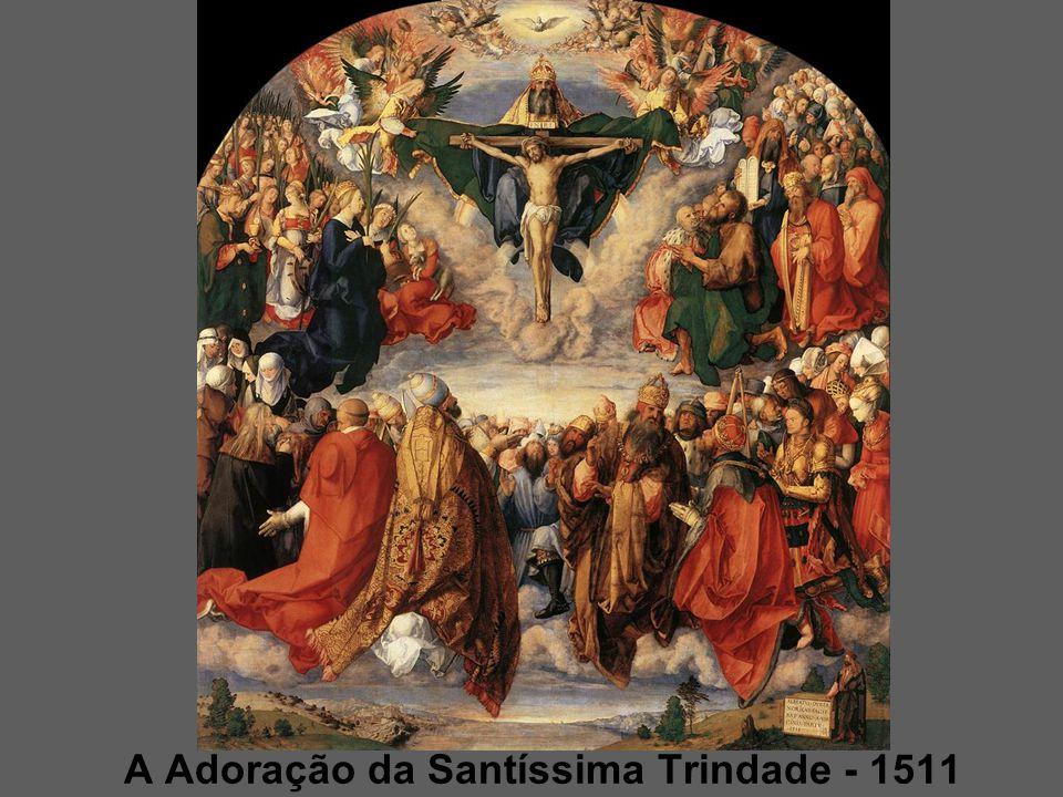 A Adoração da Santíssima Trindade - 1511