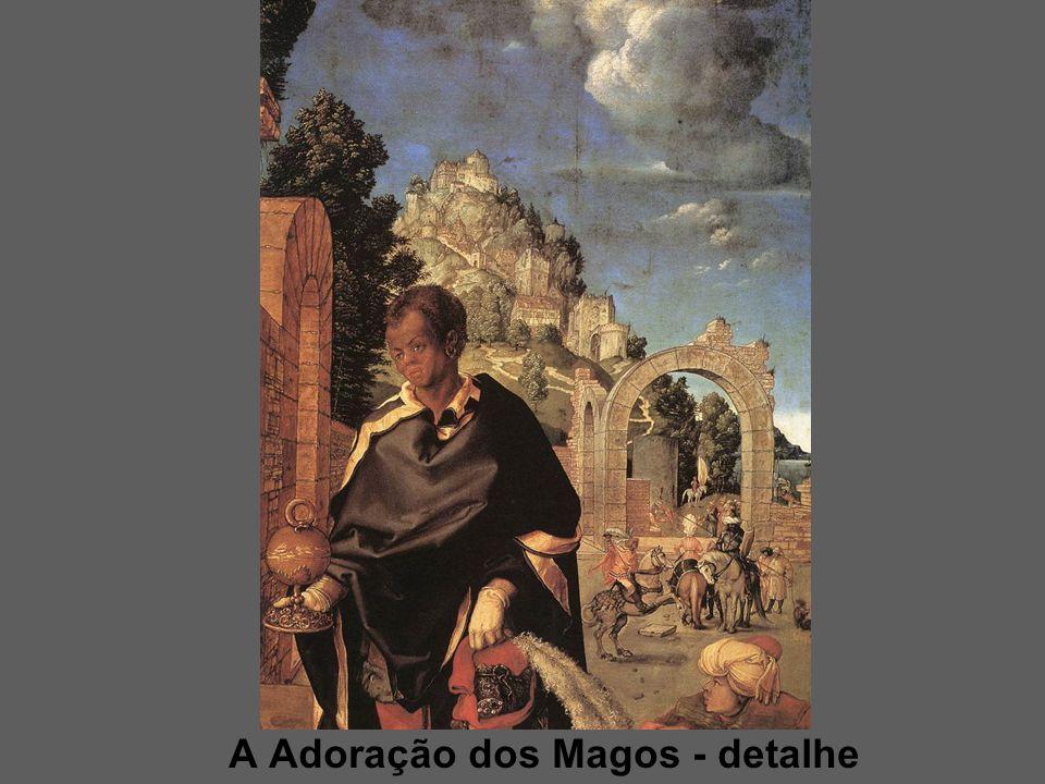 A Adoração dos Magos - detalhe
