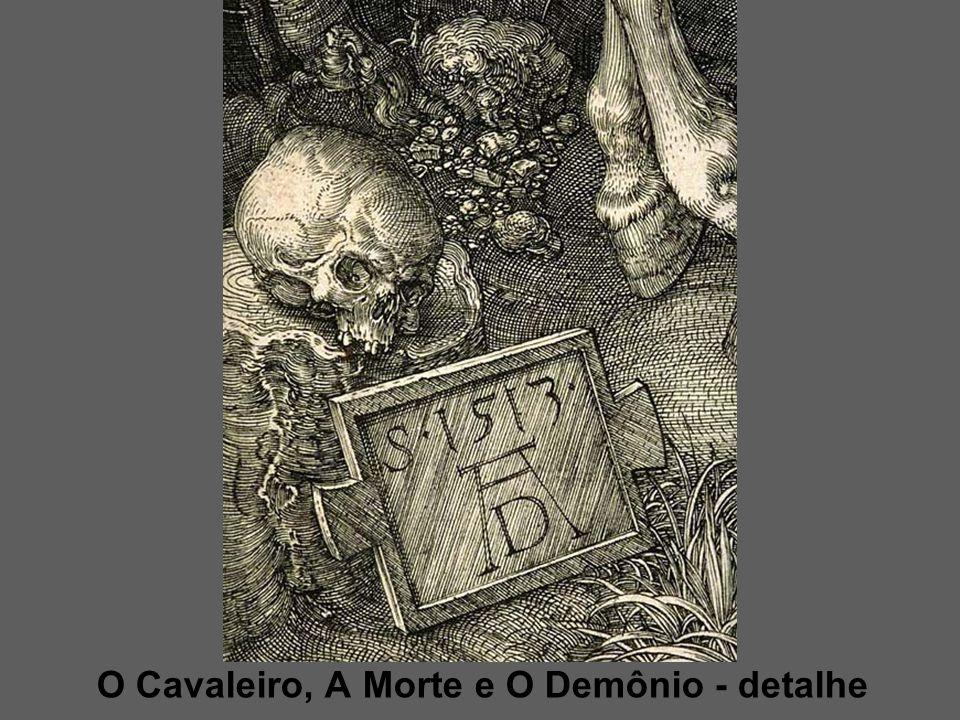 O Cavaleiro, A Morte e O Demônio - detalhe