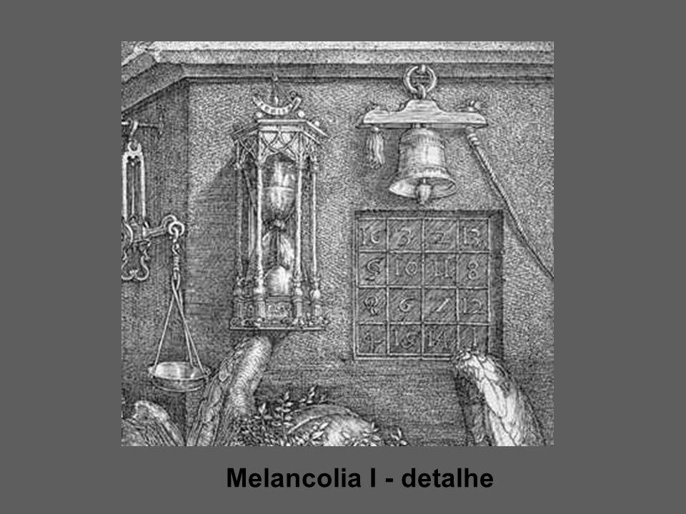 Melancolia I - detalhe