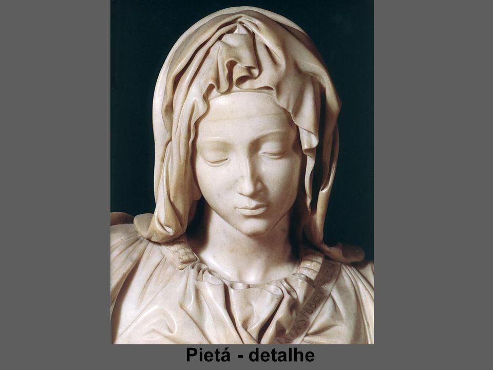 Pietá - detalhe