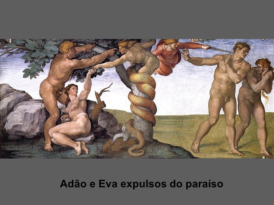 Adão e Eva expulsos do paraíso