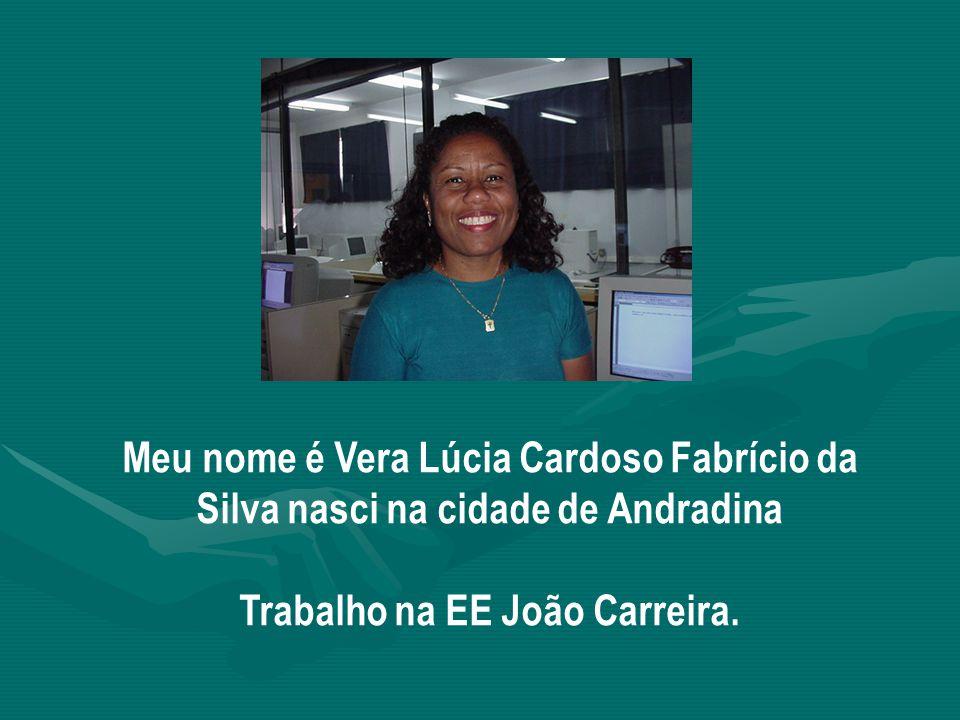 Trabalho na EE João Carreira.