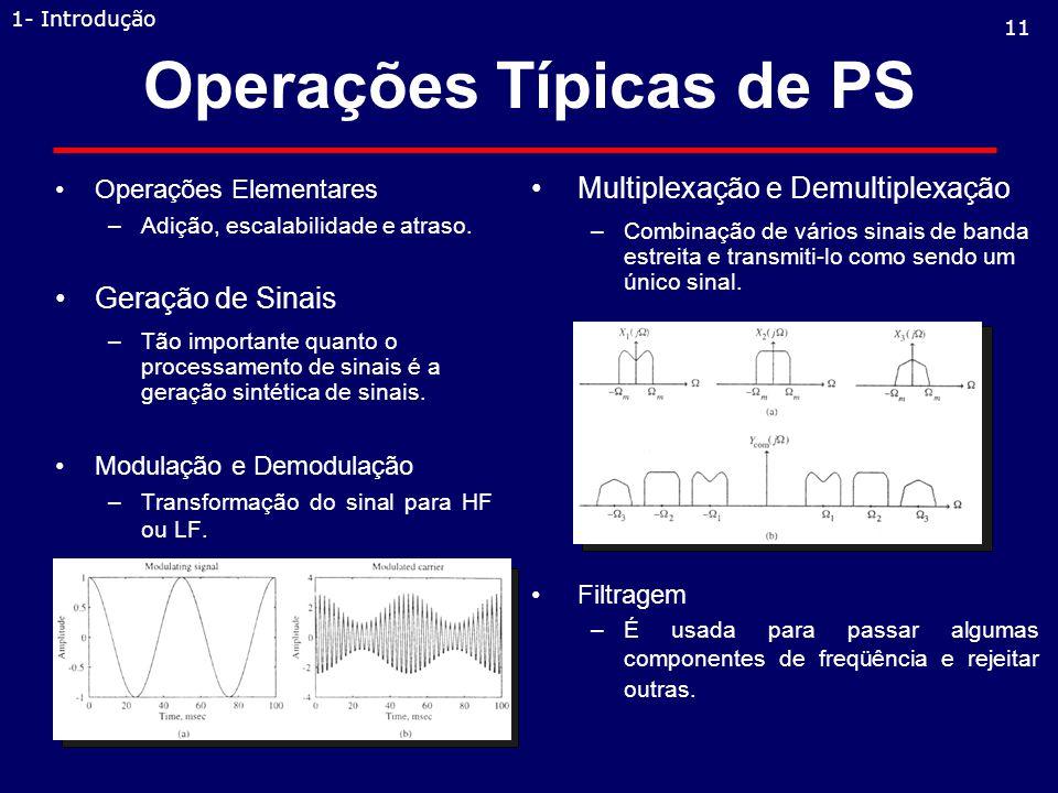 Operações Típicas de PS