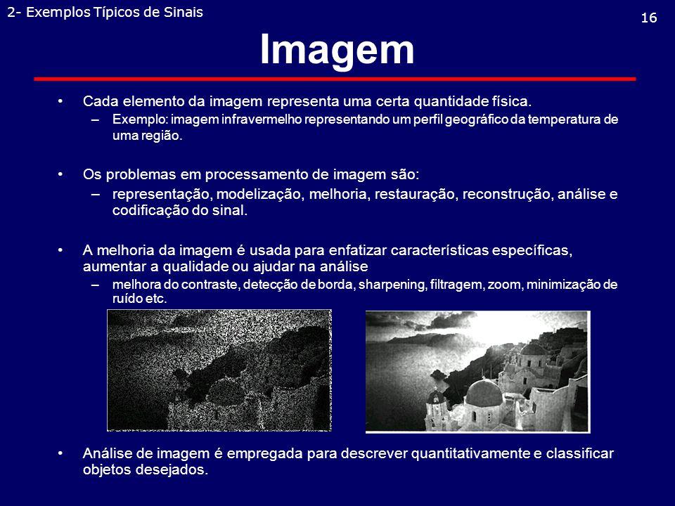 2- Exemplos Típicos de Sinais