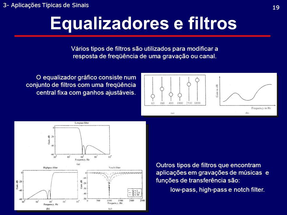 Equalizadores e filtros