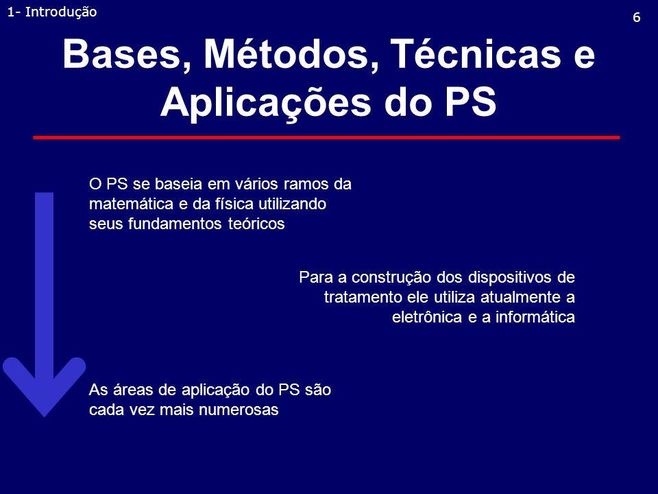 Bases, Métodos, Técnicas e Aplicações do PS
