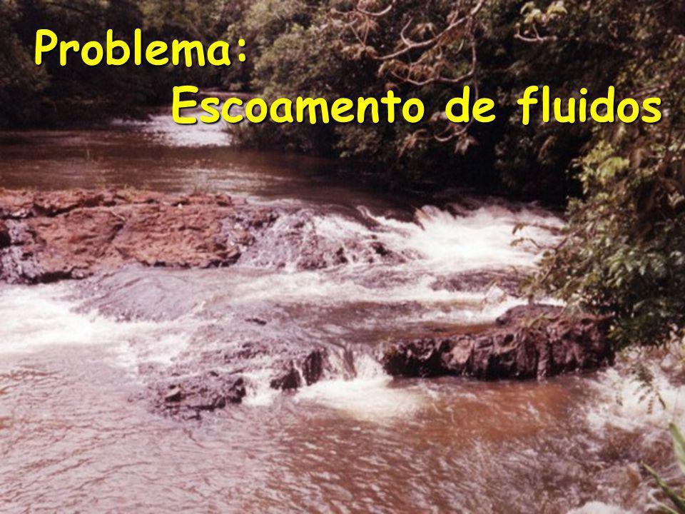 Problema: Escoamento de fluidos