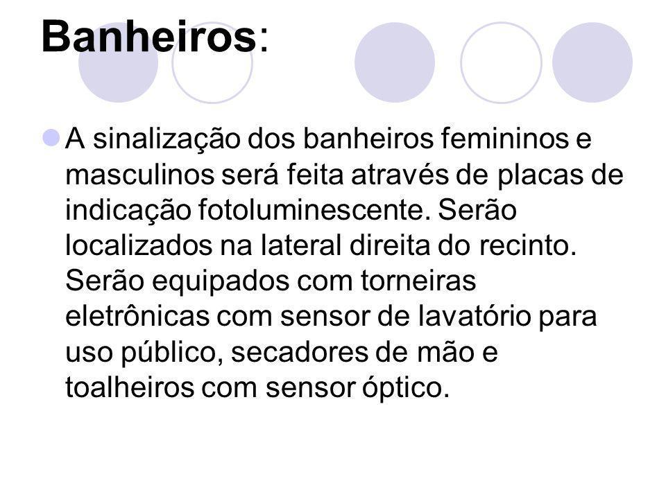 Banheiros: