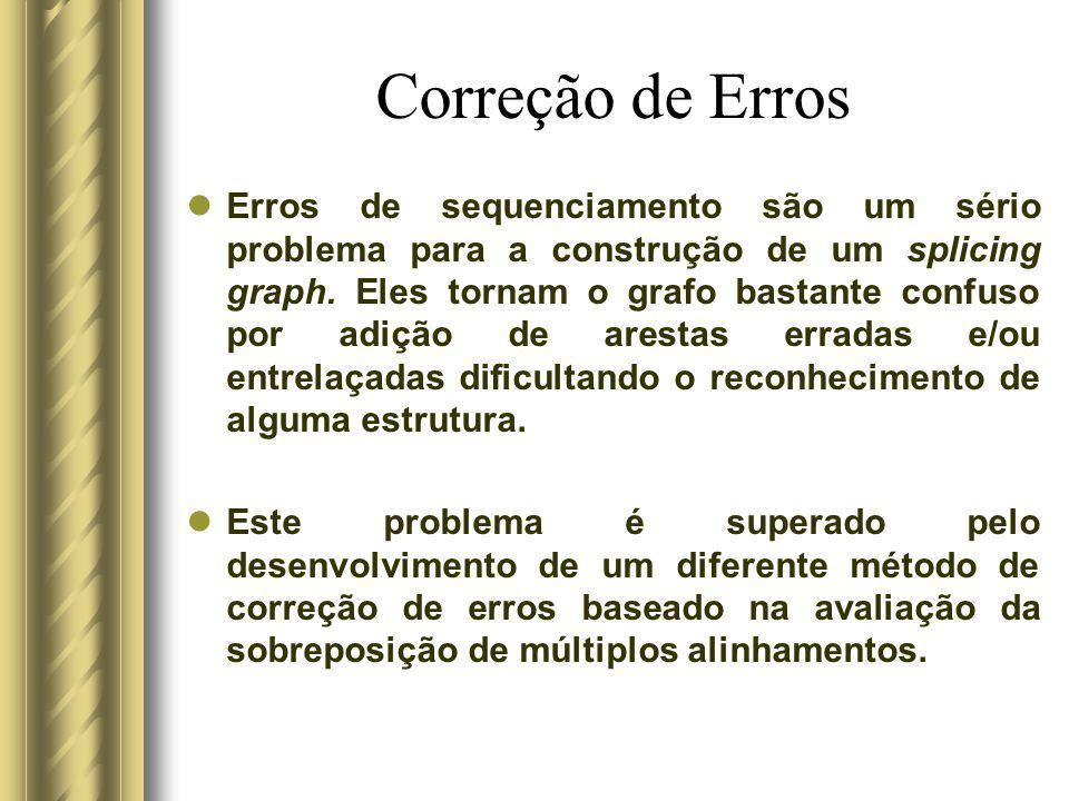 Correção de Erros