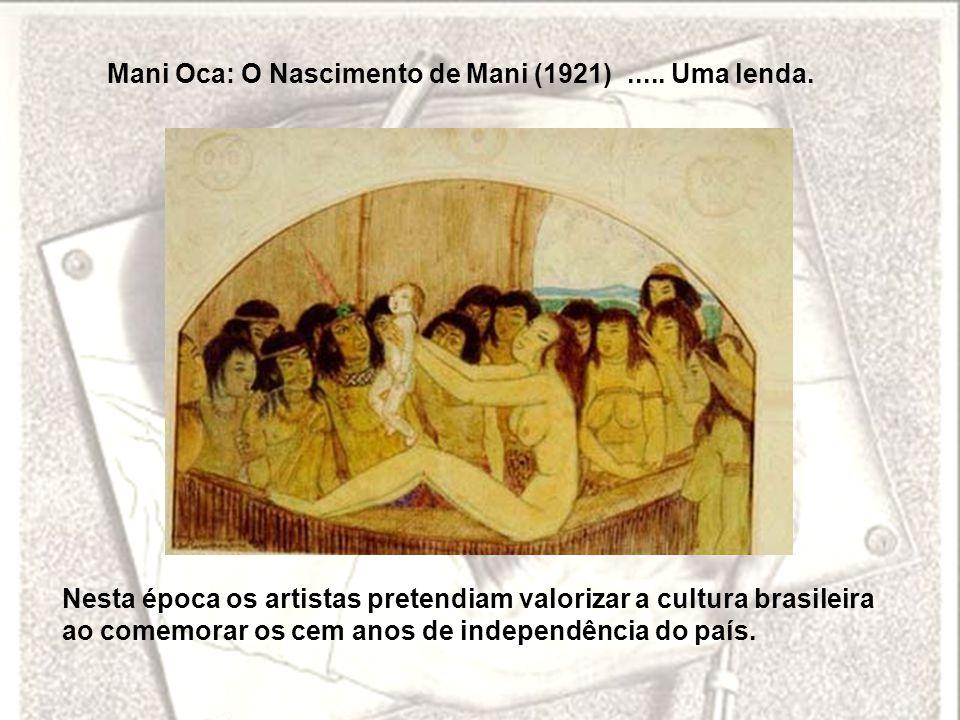 Mani Oca: O Nascimento de Mani (1921) ..... Uma lenda.