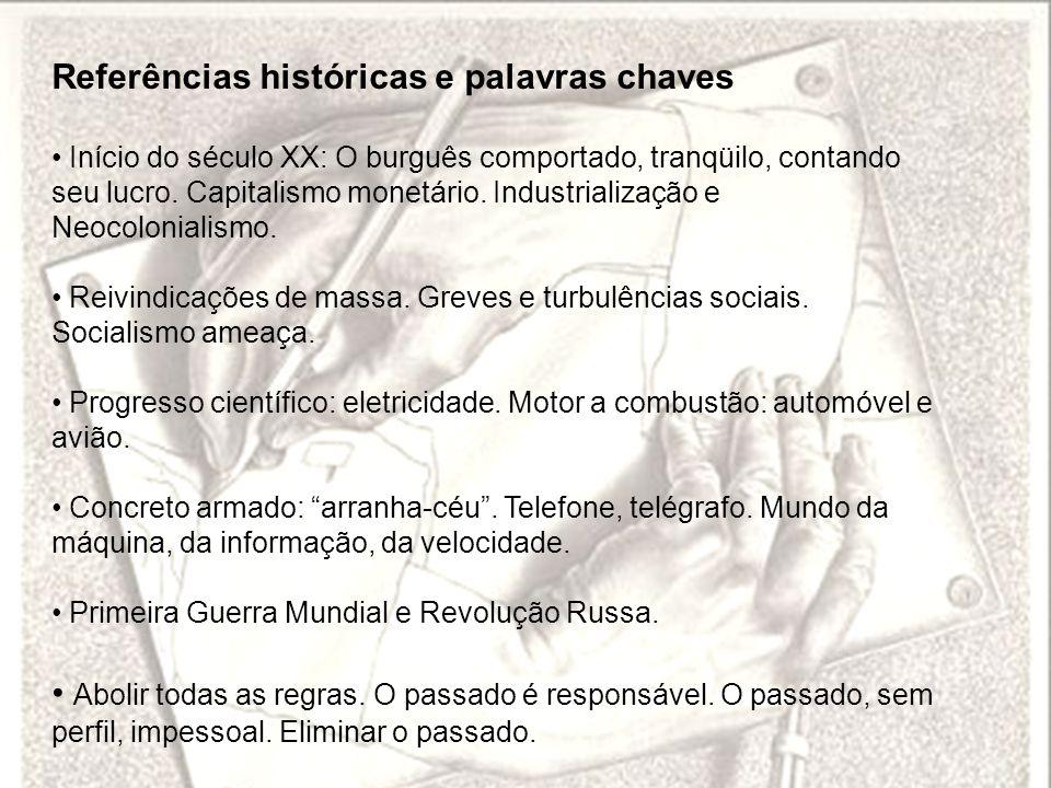 Referências históricas e palavras chaves