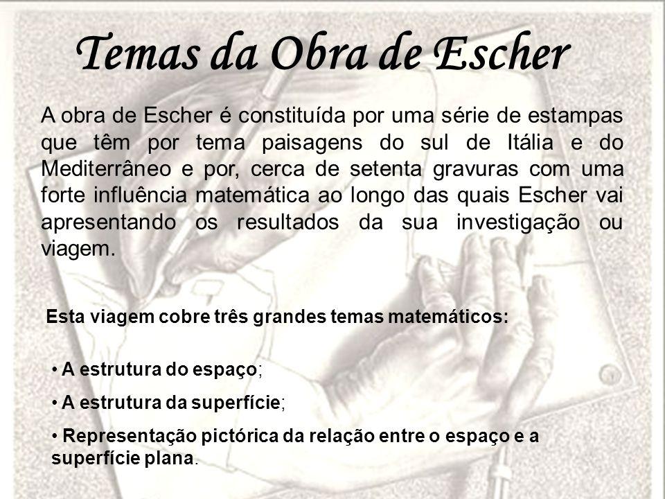 Temas da Obra de Escher