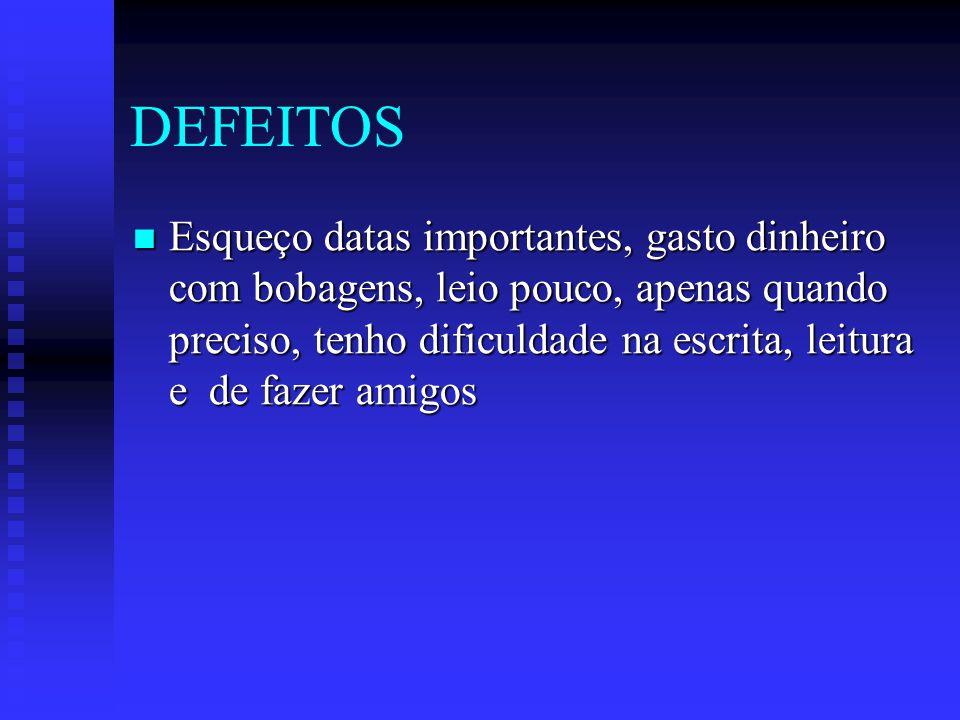DEFEITOS