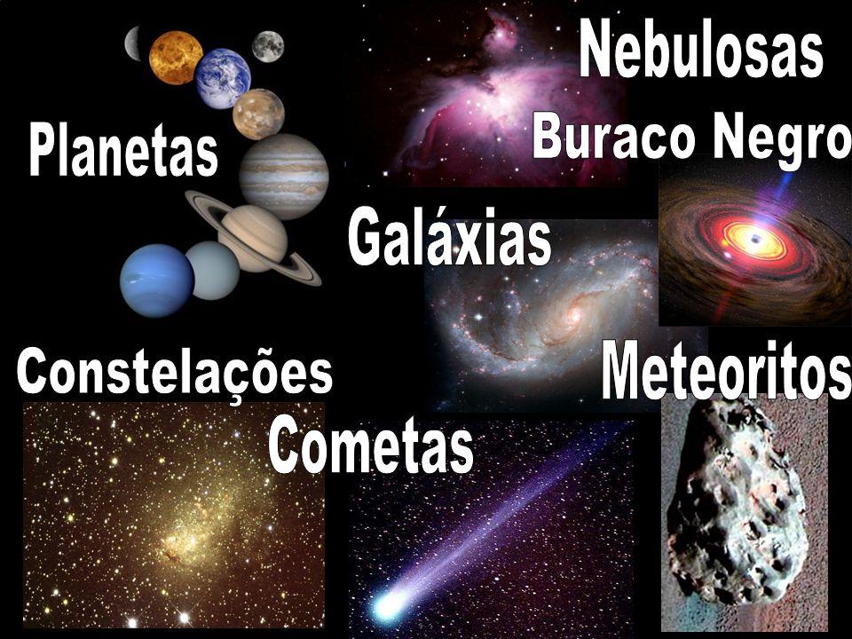 Nebulosas Planetas Buraco Negro Galáxias Meteoritos Constelações Cometas