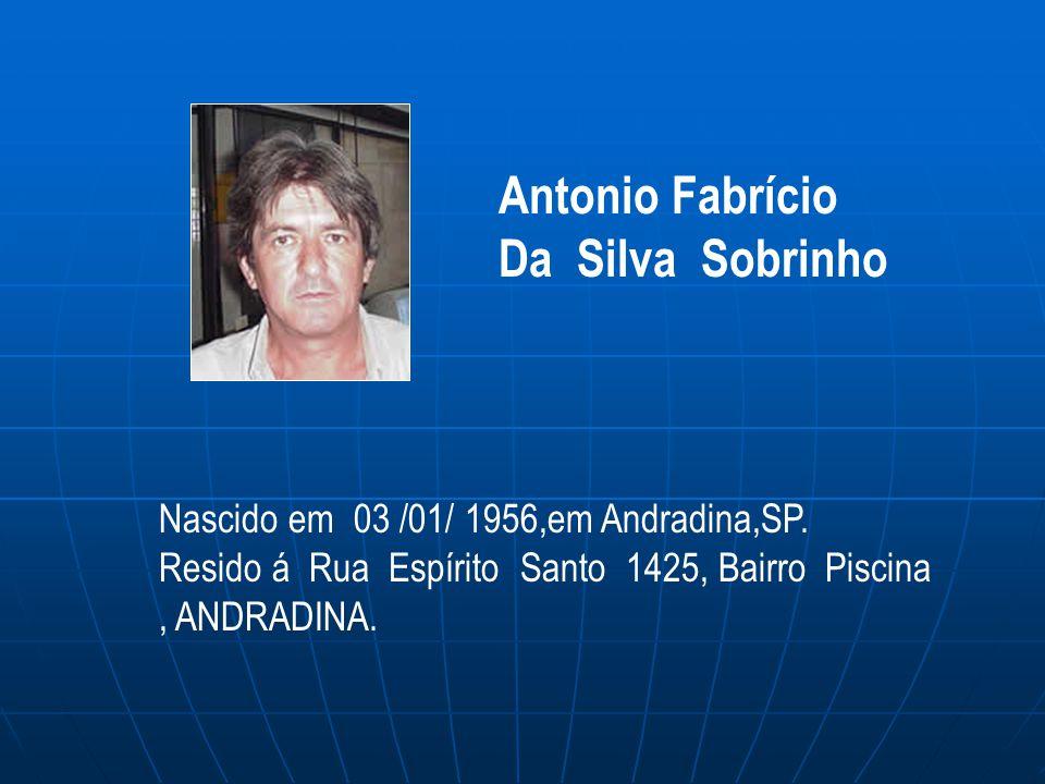 Antonio Fabrício Da Silva Sobrinho