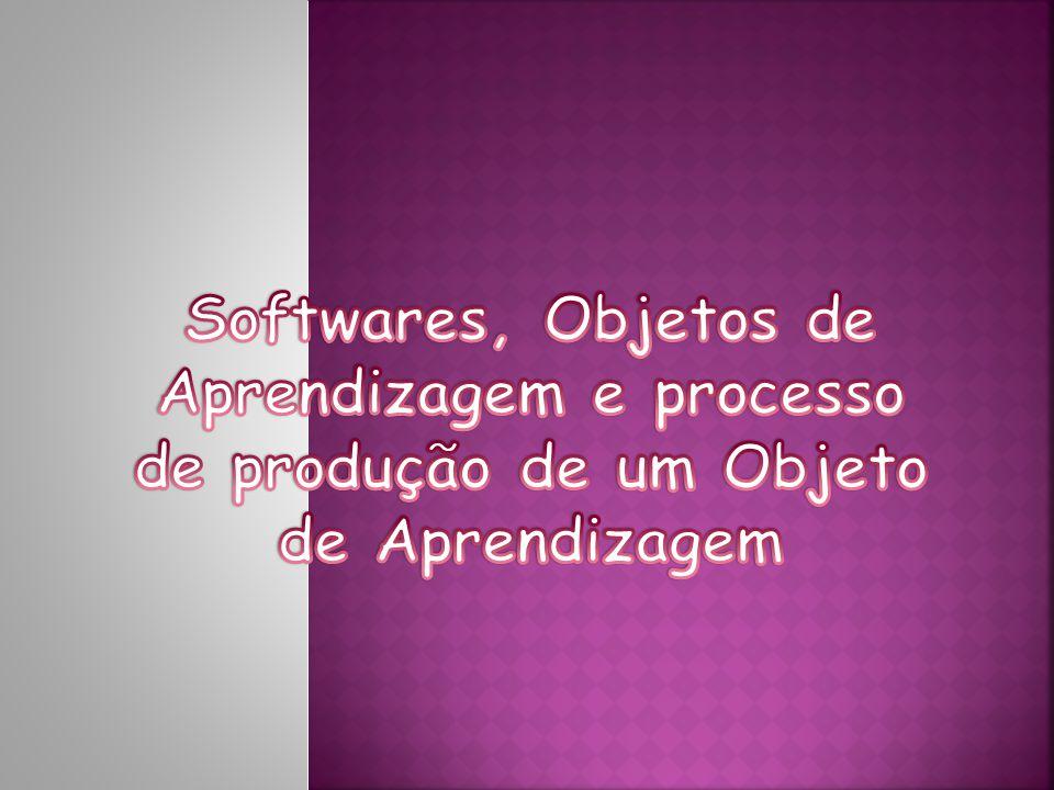 Softwares, Objetos de Aprendizagem e processo de produção de um Objeto de Aprendizagem