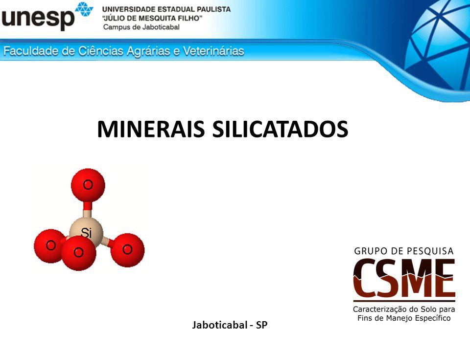 MINERAIS SILICATADOS Jaboticabal - SP