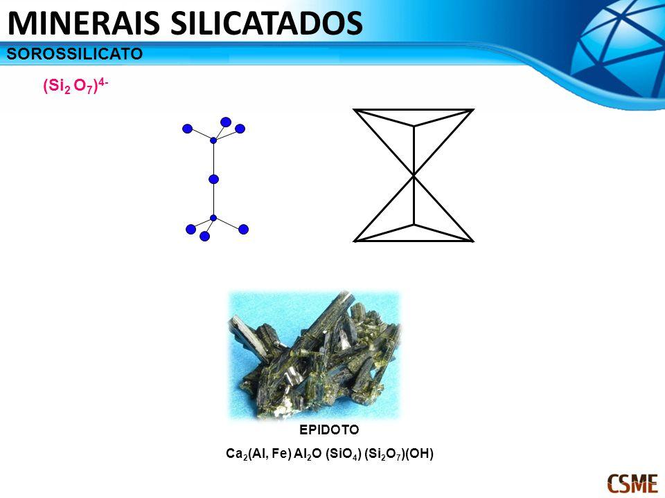Ca2(Al, Fe) Al2O (SiO4) (Si2O7)(OH)