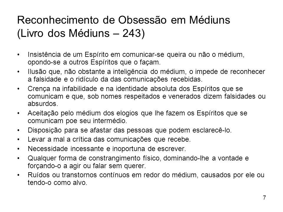 Reconhecimento de Obsessão em Médiuns (Livro dos Médiuns – 243)