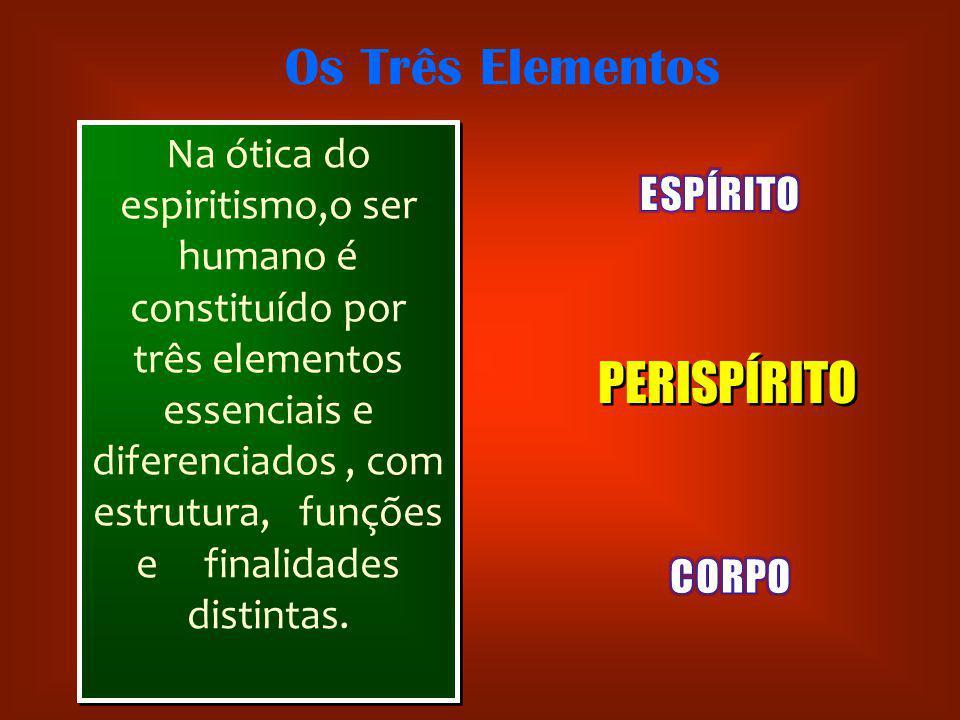 Os Três Elementos PERISPÍRITO