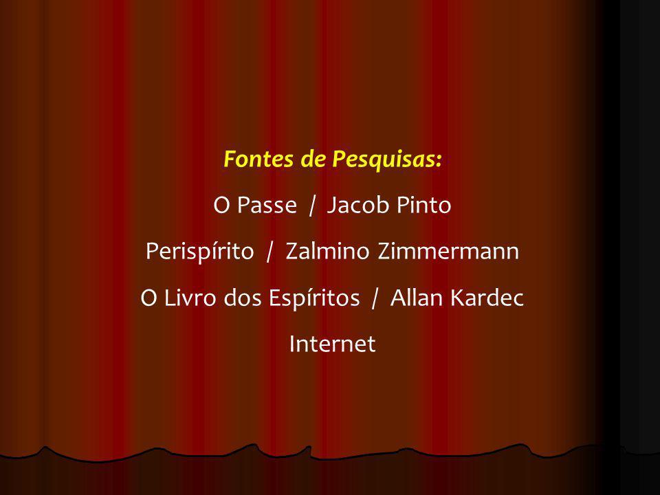 Perispírito / Zalmino Zimmermann O Livro dos Espíritos / Allan Kardec