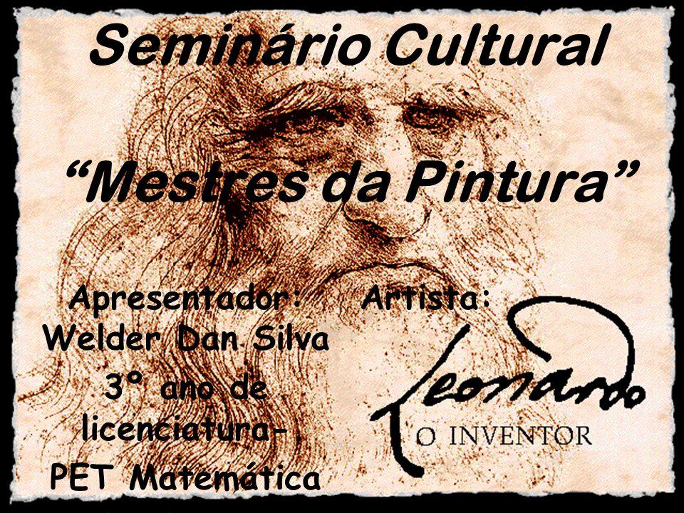 Seminário Cultural Mestres da Pintura