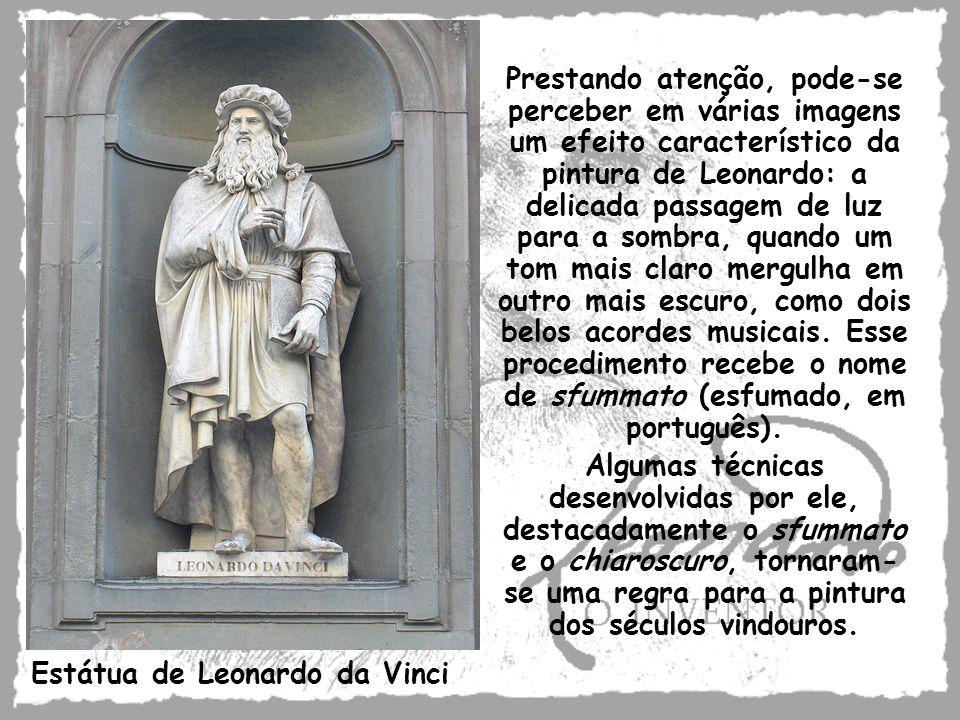 Estátua de Leonardo da Vinci