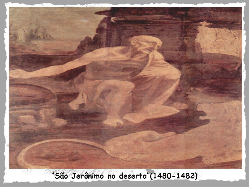 São Jerônimo no deserto (1480-1482)